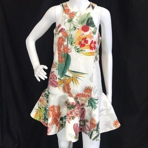 New Cameo Botanical Print Dress
